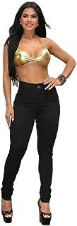 Calça Jeans Feminina Hot Pants Cintura Alta