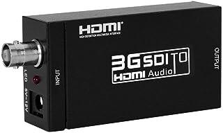 ELEVIEW 3G SDI to HDMI コンバーター 3G-SDI/HD-SDI/SD-SDI to HDMI変換器 sdi hdmi 変換 sdi-hd 変換 1080P ESD保護機能搭載 (SDI to HDMI) EHD-029N