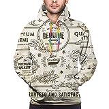 Sudadera con Capucha para Hombre Colección de Elementos de diseño de vectores...