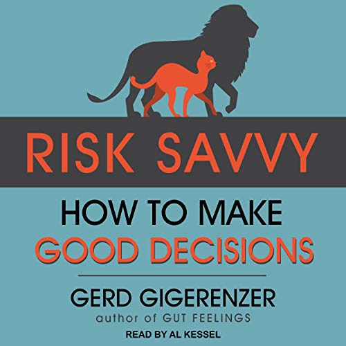 Risk Savvy audiobook cover art