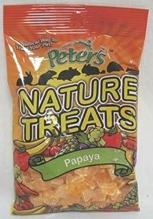 Marshall Pet Products - Nature Treats Pieces- Papaya 2.85 Ounce - Sa-1005