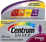 Centrum Silver Women's Supplement, 100 Count