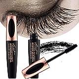 Best 3D Fiber Lashes - ZDU 4D Silk Fiber Eyelash Mascara Extension Makeup Review