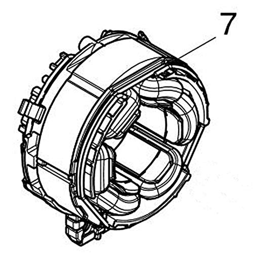 Corolado Spare Parts, Field for Makita 629217-2 Dtd170 Dtd154 Dtd154Rte Dtd154Z Dtd154Rfe Dtd170Rte Dtd170Z Dtd170Rfe