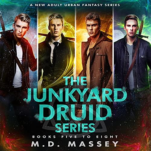 Junkyard Druid, Books 5-8: Junkyard Druid Urban Fantasy Box Sets, Volume 2