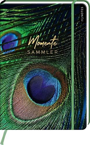myNOTES Notizbuch A4: Momentesammler - notebook large, dotted - für Träume, Pläne und Ideen / ideal als Bullet Journal oder Tagebuch