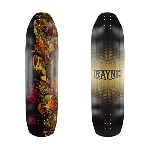 lordofbrands Monopatin skate skateboard longboard downhill Rayne Fortune V3 100 Demon 36x9.75