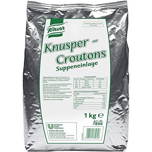Knorr Knusper Croutons 1kg 3 x 1 kg