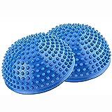 Set de 2 Bola de Equilibrio para - Erizo del Masaje del pie de Yoga Durian Masaje De Pies De Bola Media Bola para La Gimnasia De Pilates para Adulto