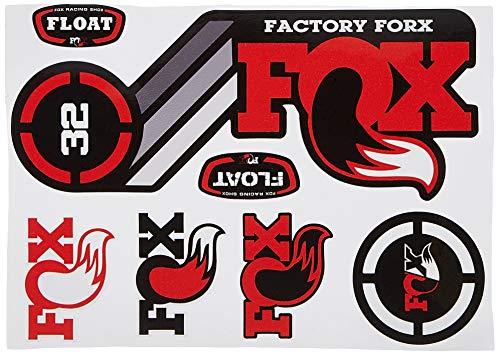 Ecoshirt 6P-TXAN-JWGI Pegatinas Fox Float 32 2015 Heretage Dp1086 Stickers Aufkleber Decals Autocollants Adesivi, Rojo