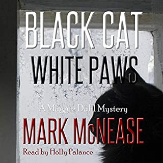 Black Cat White Paws audiobook cover art