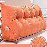 Respaldo Grande Almohada Cojines de noche Triángulo de noche amortiguador trasero almohadilla de la cuña del sofá suave del bolso de dos personas cama grande Cojín amortiguador cama Proteger la cintur