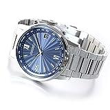 [セイコーウォッチ] 腕時計 ブライツ BRIGHTZ(ブライツ) ソーラー電波 チタンモデル ワールドタイム表記 カーブサファイアガラス クラシックテイスト SAGZ103 メンズ シルバー
