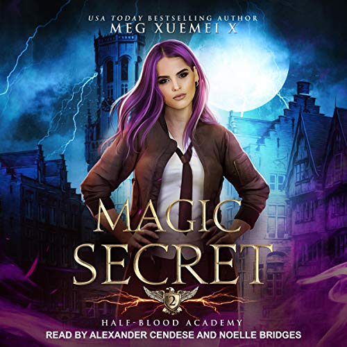 Half-Blood Academy 2: Magic Secret audiobook cover art