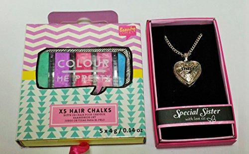 Schwester Special Deal --- Schwester Medaillon, Haar Kreiden für Schwestern Geburtstag oder jeden Anlass