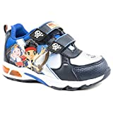 Pre-School Boys Jake and the Neverland Pirates Lights Blue Casual Trainers Size 9