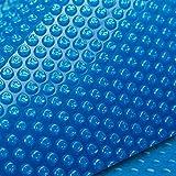 Aurelaqua 10x4.7m Solar Swimming Pool Cover Blanket, Blue