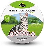 SOBAKEN Flea Collar for Cat, Natural Flea Collar, Flea and Tick...