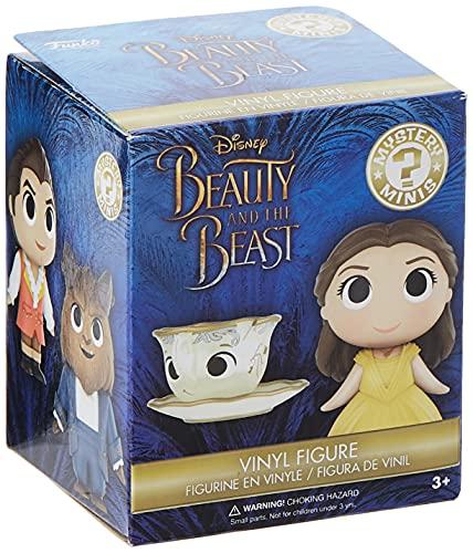 Funko - 12225La Bella e la Bestia Disney 2017PDQ CDU Mini Scatola cieca da 30,5cm con Miniatura misteriosa