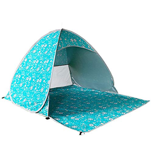 HFDXG Campingzelte Außen automatische Strand-Zelt Camping Haushalt Regensturm-Beweis Einpersonen-Camping Picknick Markise (Color : Multi-Colored, Size : 3-4 Person)