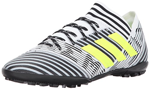 adidas Performance Men's Nemeziz Tango 17.3 TF, White/Solar Yellow/Black, 9.5 Medium US