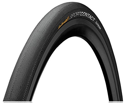 Continental Drahtreifen Sport Contact, Black/Black Skin, One size, 0101102