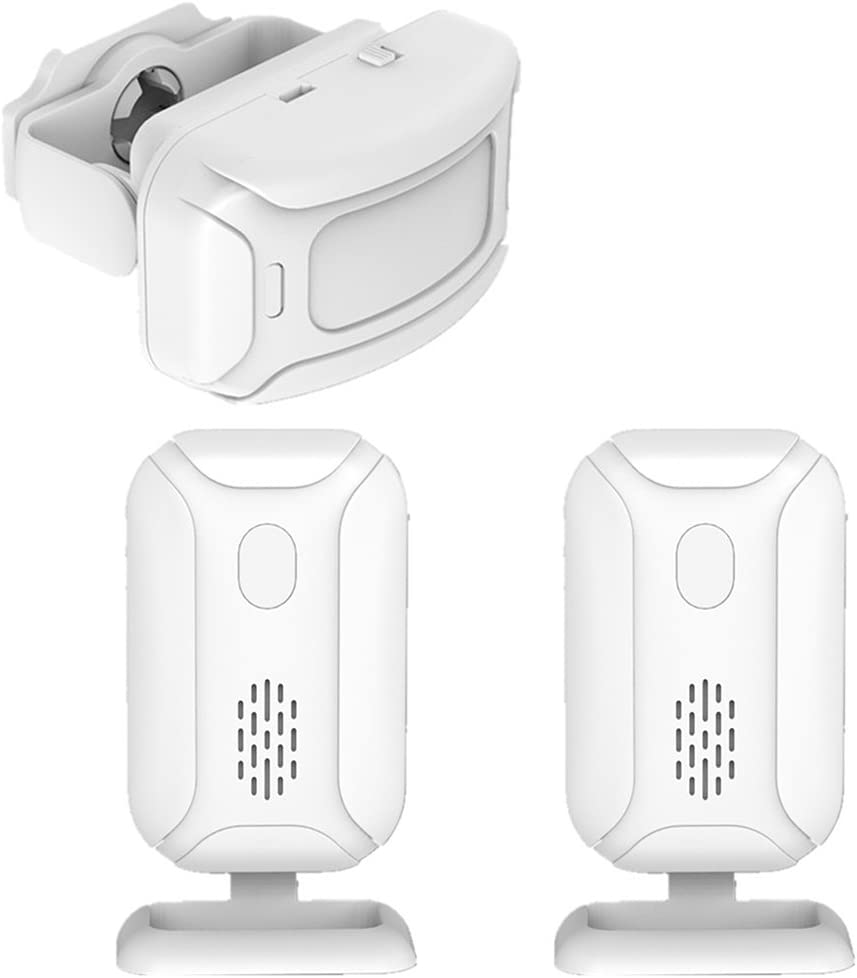 homozy Commercial Residential Welcome Doorbell White Max 43% Cheap super special price OFF - 1 Alarm