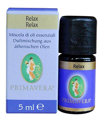 Flora Relax Miscela di Oli Essenziali Puri 100% - 5 ml
