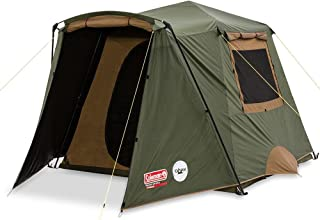 Coleman Northstar Instant-Up Lighted Darkroom 4-Person Tent Green/Tan