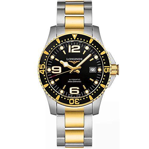 Longines Hydroconquest Automatic Black Dial Mens Watch L37423567