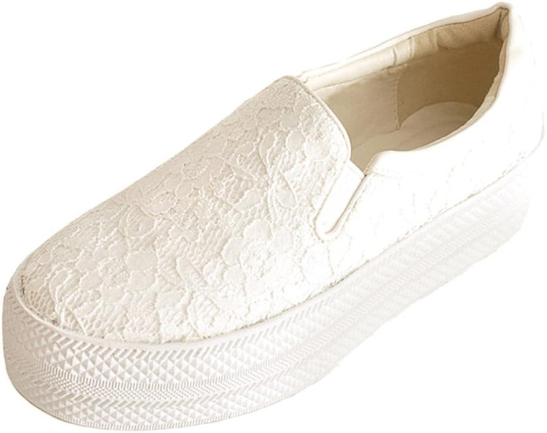 WLJSLLZYQ Fashion Platform shoes End of Platform shoes in The Spring The Spring and Autumn and Large Size Women's shoes