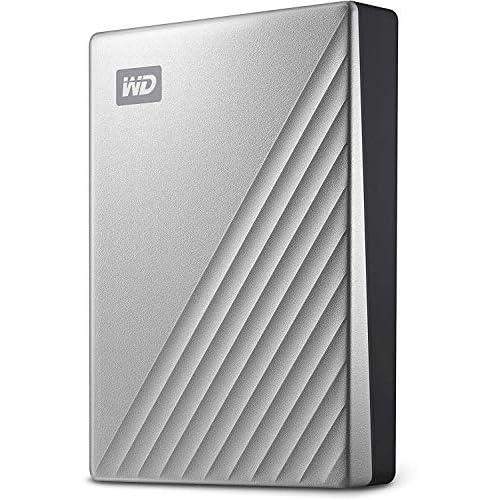 WD 4TB My Passport Ultra for MAC, USB-C, Argento
