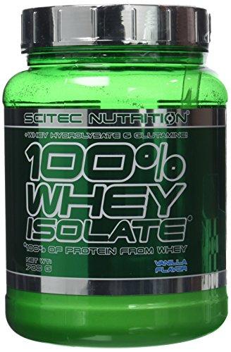 Scitec Nutrition 100% Whey Isolate protéine vanille 700 g