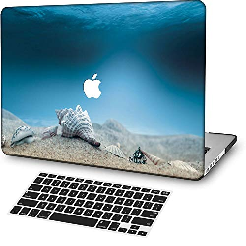 MingCaiFS Laptop Case for MacBook Air 13' Retina (Touch ID),Plastic Pattern Ultra Slim Light Hard case Keyboard Cover (Model:A2179) Landscape A 48