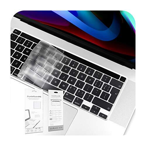EU/UK Soft TPU Cover Transparente Clear Protector para Macbook Air Retina 12 13 2020 New Air Pro 13.3 15 16 pulgadas 2019-New Pro 16 pulgadas