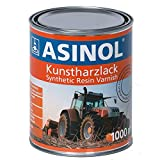 ASINOL AGRIA Orange - Barniz de resina sintética (1000 ml), color naranja