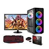 Pc Gaming INFOCOMPUTER - (AMD Ryzen 3 3000G Ordenador Gaming 16GB de RAM, Disco SSD 480GB + 1TB HDD, WiFi, Monitor 24')