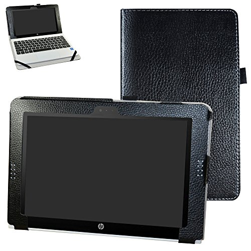 HP Pavilion x2 10 / HP x2 210 G1 Hülle,Mama Mouth PU Leather Folio Stand Cover for 10.1