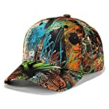 BINGMAX Herren & Damen Baseball Cap, Basecap Snapback Caps Kappe Mütze - Sportlich, Straße Hiphop, 54~60cm