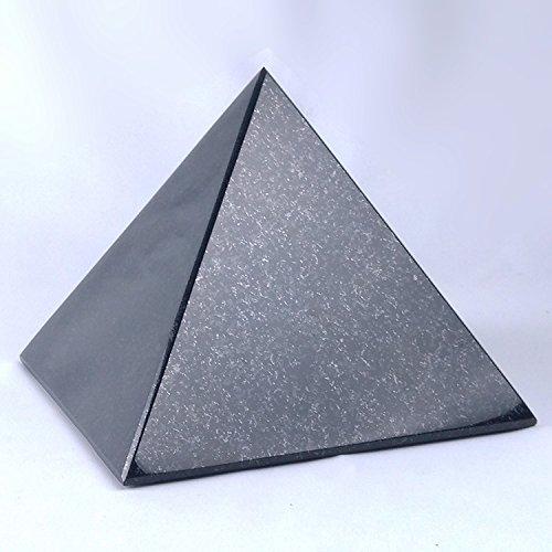 designgrab Urne Pyramide Petit Animal en granit suédois Black Noir Animaux Chien Chat Urne funéraire Urne