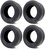 Arisun 205/50-10 DOT Street Tires for EZGO, Club Car, Yamaha Golf Carts (205/50-10, Set of...