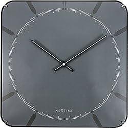 NEXTIME 3173.0 Michael Square Dome, Plastic, Grey, 35 x 35 x 5 cm