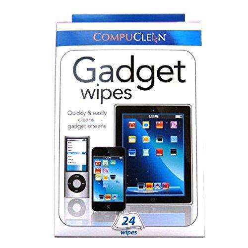Compuclean Reinigungstücher für alle Bildschirme, 24Stück