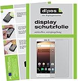 dipos I 2X Schutzfolie matt kompatibel mit Alcatel A3 XL Folie Bildschirmschutzfolie