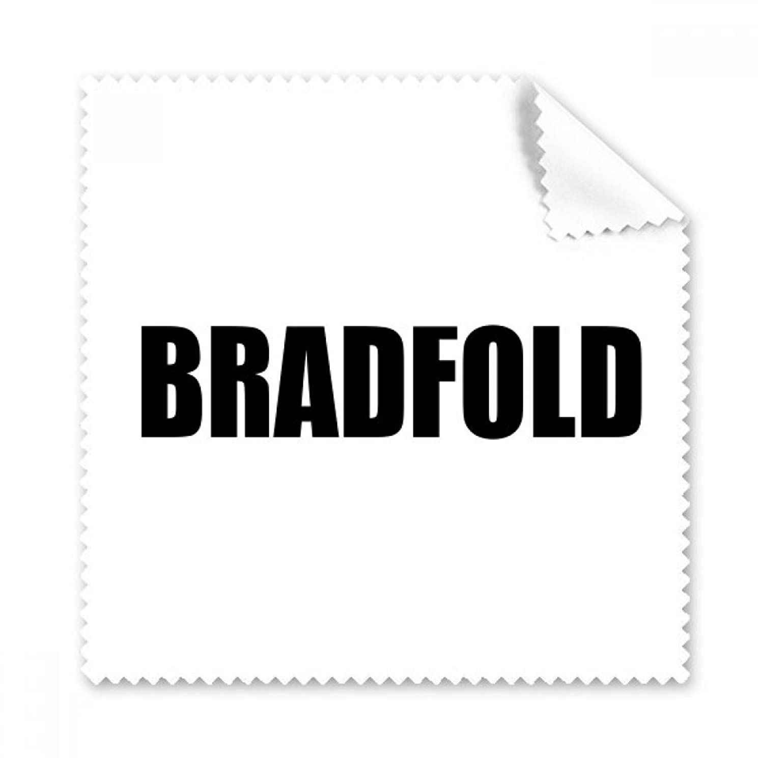 Bradfold Britain City Name Glasses Cloth Cleaning Cloth Phone Screen Cleaner 5pcs Gift