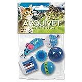 Arquivet 8435117841291–Kit 6Gioco per Gatti Blu
