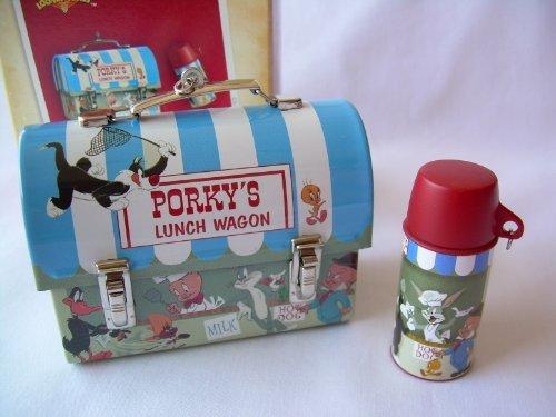 Hallmark Lunch Wagon for Porky Pig Looney Tunes 2004 Lunchbox Christmas...