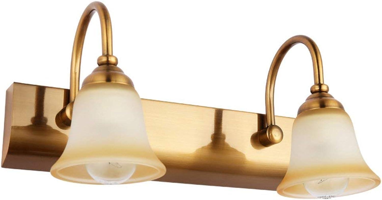 Europischen LMirror vorne Licht Badezimmer Wand Lampe Spiegel Lampen Schlafzimmer Kommode Beleuchtung (Gre  32 cm).