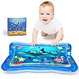 Joyjoz Wassermatte Baby Wasserspielmatte Tummy Time Aufblasbar Baby Matte, Sensorisches Spielzeug, Aktivitätsmatte für Kleinkinder