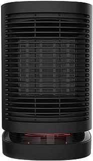 Calefactor Ventilador Personal Calentador Compacto eléctrico Calentador de espacios más caliente del ventilador Negro sobrecalentamiento Protección de volcado Entre protección eficaz consumo de energí